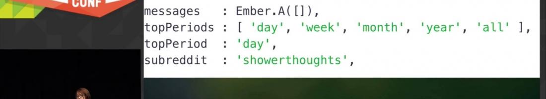 Live Coding an Ember App Using Test Driven Development at EmberConf 2015, Toran Billups